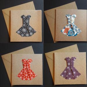 Cartes origami